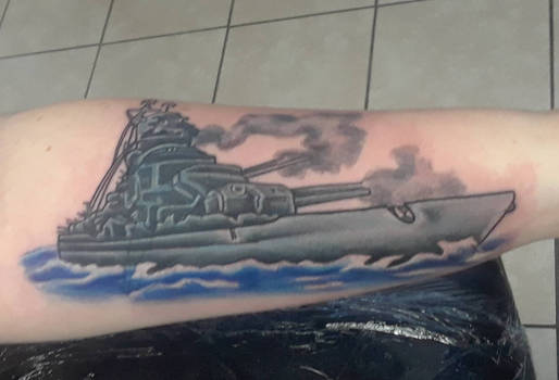 Cover Up Tattoo by The-Pink-Slime