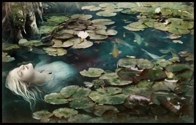 Ophelia by cosmosue