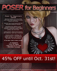Poser for Beginners SALE by cosmosue