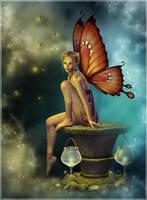 Fairy Glowfly by cosmosue