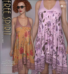 Free Spirit dForce Buttercup Dress by cosmosue