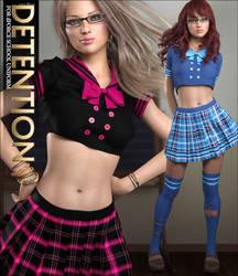 Detention for School Uniform by cosmosue