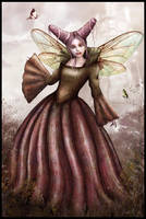 Queen Mab of the Fairies by cosmosue