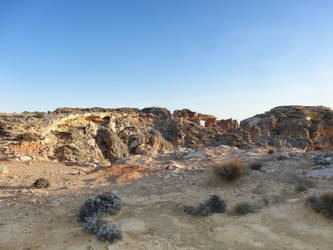 Sandy Cliffs by cemacStock