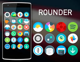 Rounder L iconpack (Google Play) by draseart