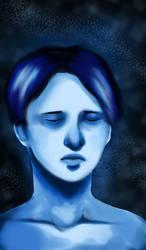 Monochromatic blues by Hopeful-Jerico