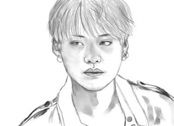Wip Yoongi by Hopeful-Jerico