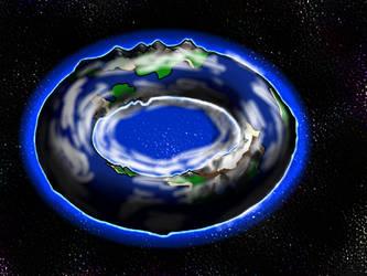 Planete donut by ArkanaStrife