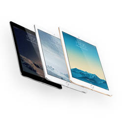 iPad Air 2 Mock-up Gold, Silver, Space Gray by theanthnonyrich