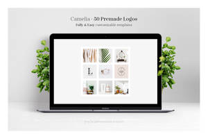 Camelia - 50 Premium Logo Templates by theanthnonyrich