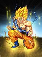 Goku SSJ by Dpredfire