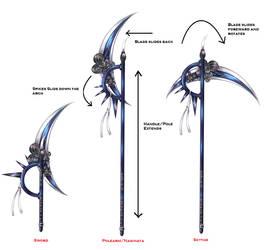 OC Cresent Moon Weapon Sheet by Saisei-The-OC
