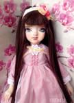 Season Sisters: Spring (Blossom) - OOAK Art Doll by Katalin89