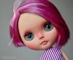 Plum (OOAK Blythe Doll) by Katalin89