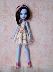 Abbey Bominable - OOAK Custom Monster High doll by Katalin89
