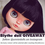 Blythe doll GIVEAWAY by Katalin89