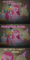Pinkamena Pie - Forever Alone by Skunkiss