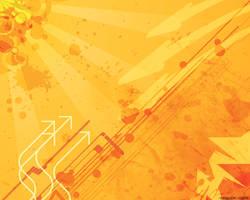Orange Wallpaper by Ichigo-DA