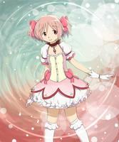 Kaname Madoka - A Puella Magi by nintendo-jr