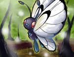 AC - Butterfree by nintendo-jr