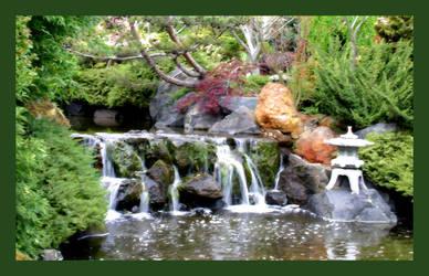 Falls at Botanical Gardens by KittenKiss