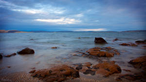 Slow Exposure: Derwent River at Sunset (1) by KittenKiss