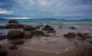 Slow Exposure: Derwent River at Sunset (4) by KittenKiss