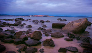 Slow Exposure: Derwent River at Sunset (5) by KittenKiss