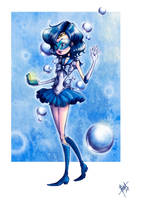 Sailor Mercury by obscureBT