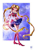 Sailor Moon by obscureBT