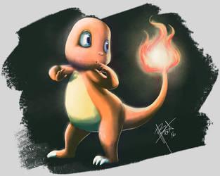 Pokemon - Charmander by obscureBT