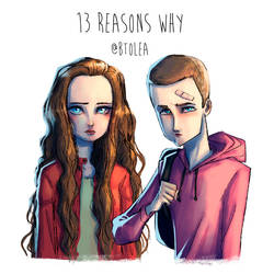 13 Reasons Why by obscureBT