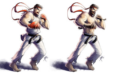 Ryu by obscureBT