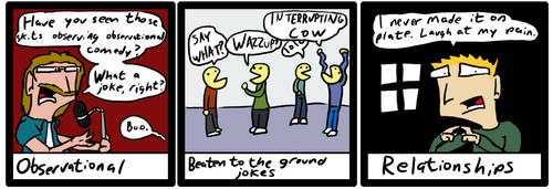 Terrible Comedy Genres by IMDoering