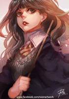 Doodle - Hermione Jean Granger by Braionss