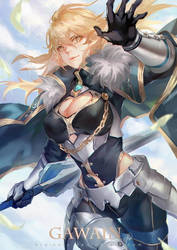 Fate Grand Order - Gawain (Genderbend) by Braionss
