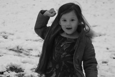 Cassie in the Snow by silvermist999