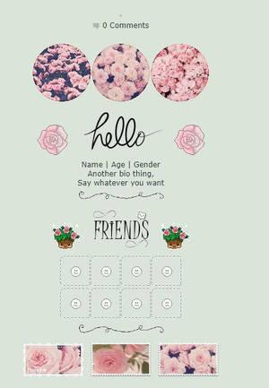 Pink Roses F2U Noncore Profile Code by silvermist999