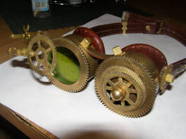 Steampunk goggles by Slavantura