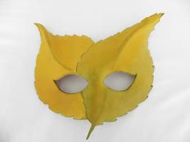 Fallen Leaves Mask by Polymnia88