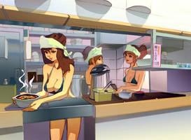 Men's Ramen Shop by taho