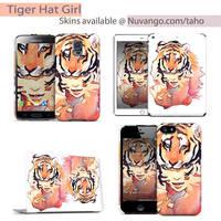 Tiger Hat Girl Skins by taho