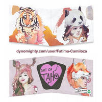Animal Cosplay Watercolor by taho