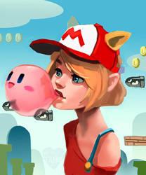 Satoru Iwata Nintendo Tribute by taho