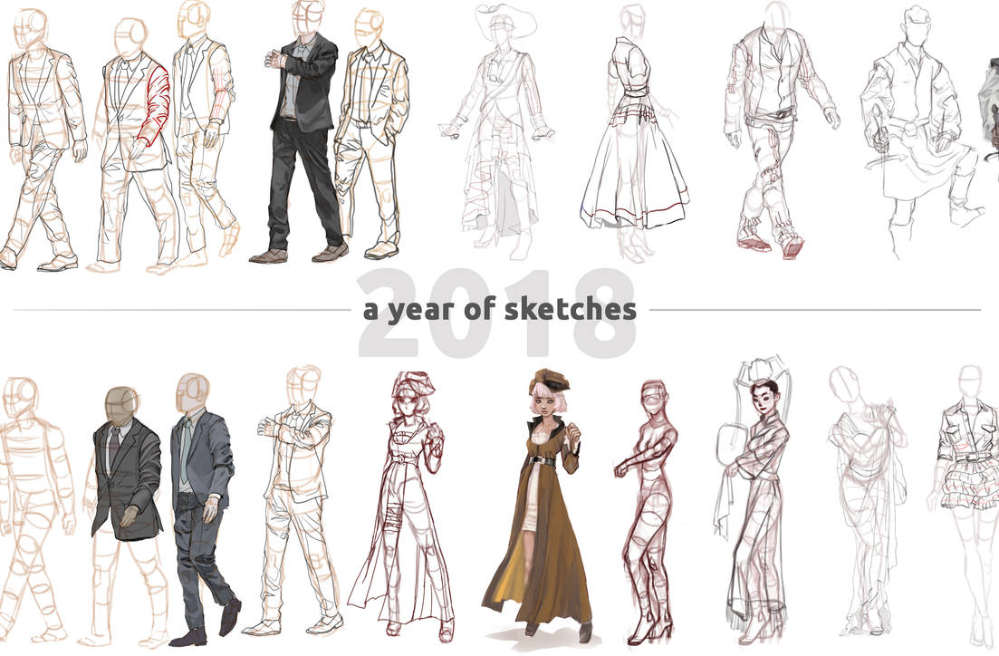 Year Of Sketches Copy by taho