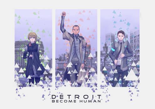 DETROIT: Become Human by Hana-no-Kon