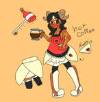 Hot-coffee colored by kmanke8231