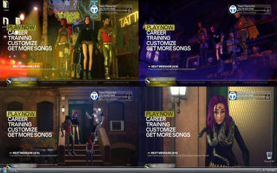 Teen Titans in Rock Band 3 by ARNie00