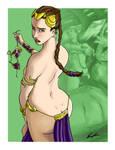 Slave Leia 2 by DreadedDinosaur