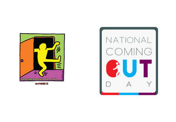National Coming Out Day by Maeniel